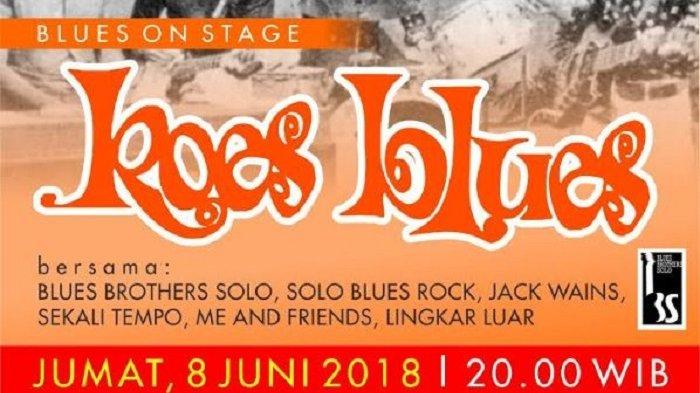 Bersiaplah Para Penggemar Koes Plus, Balai Soedjatmoko Solo Akan Gelar Blues on Stage 'Koes Blues'