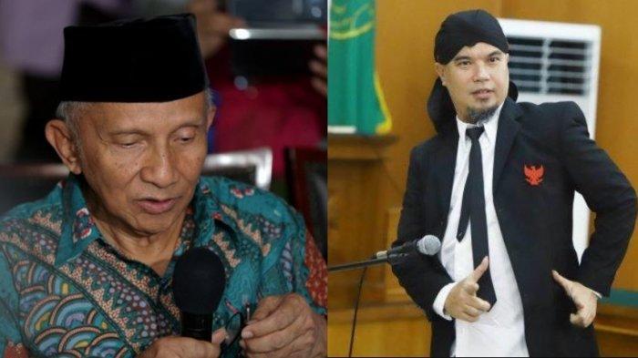 Jenguk Ahmad Dhani di Rutan Cipinang, Amien Rais: Insha Allah 2019 Indonesia Menang