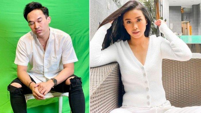 Kolase foto Ayya Renita dan Anwar Sanjaya yang kini digosipkan sudah putus cinta.