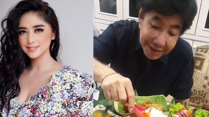 Kolase foto Dewi Perssik dan Guruh Soekarno Putra