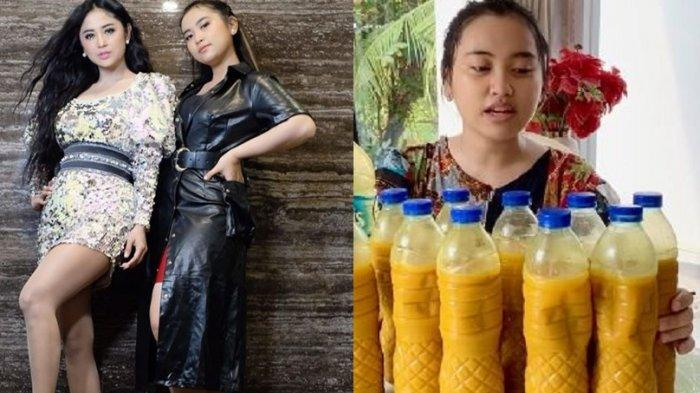 Jadwal Manggung Terganggu karena Corona, Keponakan Dewi Perssik PD Jualan Jamu, Ramzi Beri Pujian