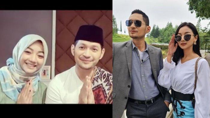 Berpakaian Muslim, Evan Sanders Dampingi Glenca Chysara Ucapkan Selamat Puasa, Fans Heboh