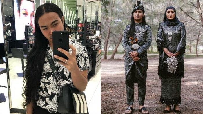 Viral Kisah Pria Rela Potong Rambut Panjangnya Demi Istri, saat Resepsi Penampilannya Bikin Pangling