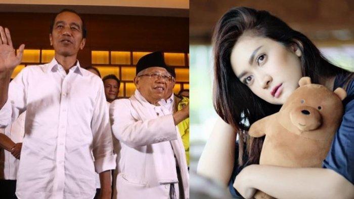 Nafa Urbach Ucapkan Selamat kepada Jokowi-Maruf Amin, Minta Kubu 01 dan 02 Legowo