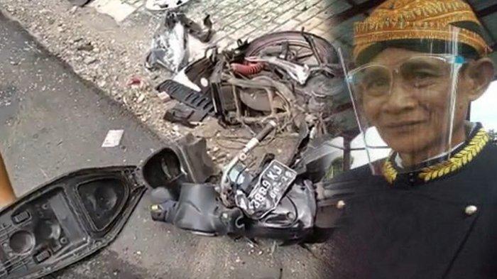 Tegarnya Istri Korban Kecelakaan Maut di Prambanan Klaten : Mau Gimana Lagi Sudah Takdir