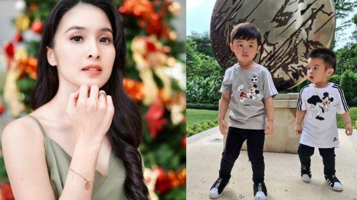 Cerita Sandra Dewi di Balik Kulit Putih Mikhael Moeis, Putra Bungsunya Harus Mendapat Perlakuan Beda