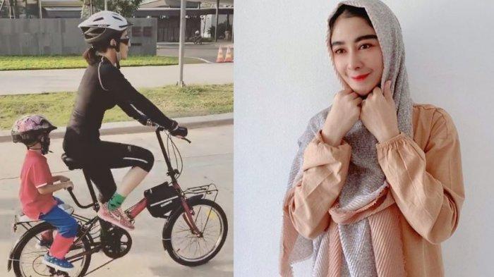 Uut Permatasari Tak Malu Akui Harga Sepedanya Merakyat, Kini Bagikan Potret Minum Jamu Pinggir Jalan