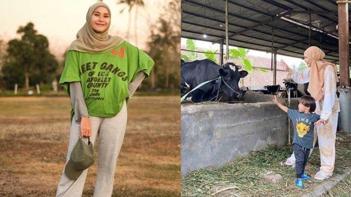 Cerita Zaskia Adya Mecca Pilih Ajak Anak Nonton Sapi Ketimbang ke Mall, Ingin Ajarkan Realita Hidup