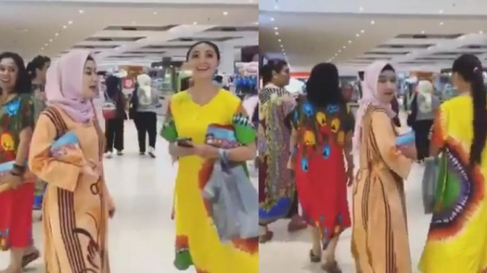Deretan Artis Ini Percaya Diri Jalan ke Mall Pakai Daster, Penampilan Della Puspita Curi Perhatian