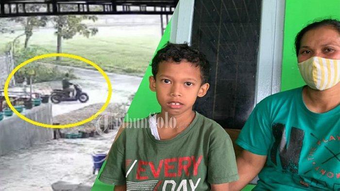 Viral Pria Pakai Scoopy Rampas HP Anak Kecil di Ngawen Klaten, Pelaku Pura-pura Pinjam untuk Telepon