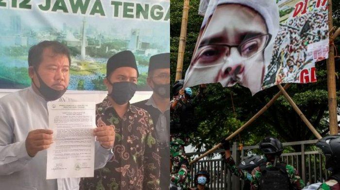 Reaksi Kegeraman PA 212 Jateng : Dapati Pangdam Jaya Usulkan Pembubaran FPI Pimpinan Rizieq Shihab
