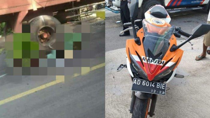 Identitas Pengendara Honda CBR 150R yang Tewas Tergilas Truk di Sragen, Bekerja di Pabrik Boneka