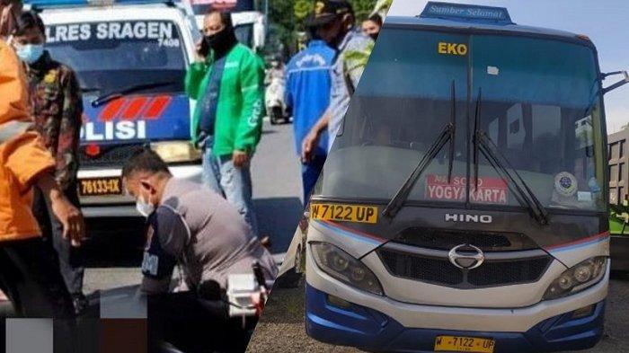 Ingat Sumber Selamat Tabrak Motor di Sragen yang Bikin Pensiunan PNS Meninggal? Ini Nasib Sopir Bus