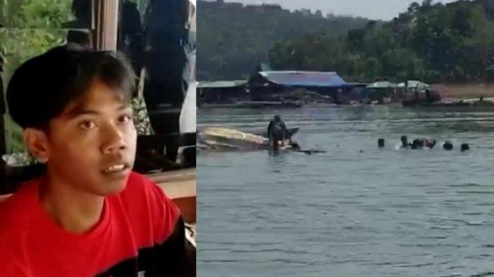 Kesaksian Korban Perahu Terbalik di Kedung Ombo : Istri & Anak Kedua Selamat, Anak Pertamanya Hilang