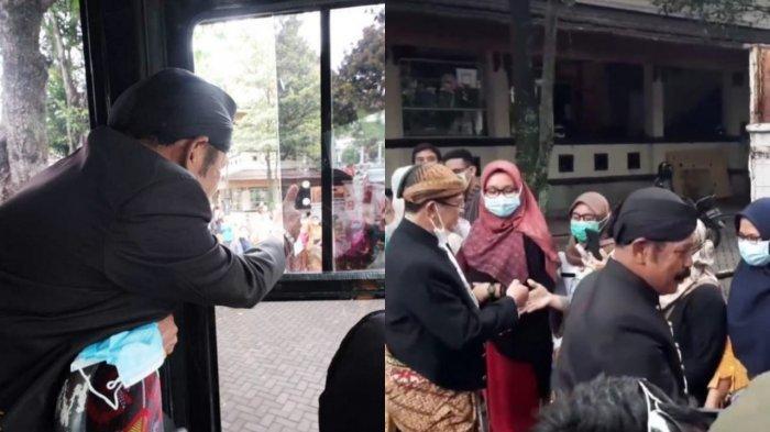 Detik-detik FX Rudy & Purnomo Tinggalkan Halaman Pemkot Solo : Naik Bus, Duduk di Samping Sopir