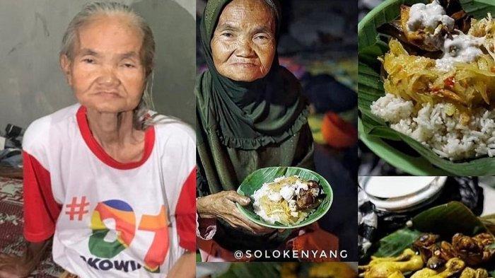 Kisah Mbah Saminem 23 Tahun Jual Nasi Liwet di Solo Baru : Berkali-kali Ada yang Borong, Sejam Ludes