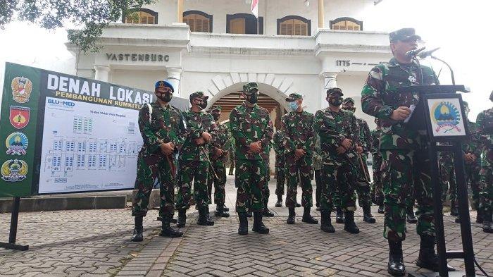 BREAKING NEWS : TNI Bangun RS Darurat Covid-19 di Benteng Vastenburg Solo, Sediakan 100 Tempat Tidur