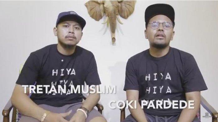 Coki Pardede Tersandung Kasus Narkoba, Cuitan Tretan Muslim di Hari yang Sama Jadi Sorotan