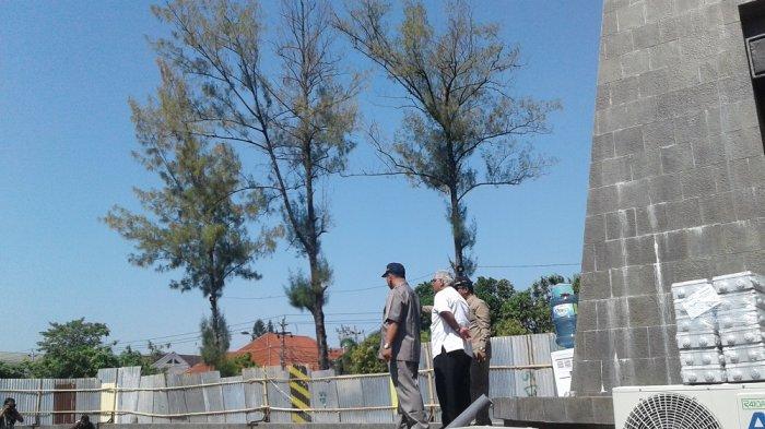 Komisi II DPRD Solo Kecewa Proyek Penambahan Sarana Plasa Manahan Tak Kunjung Selesai