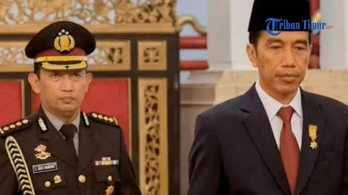 Mantan Bawahan Ungkap Hubungan Komjen Listyo dan Jokowi, saat Sang Jenderal Masih Berpangkat Kombes