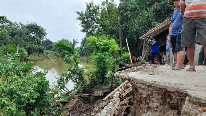 Kesaksian Pemilik Rumah Nyaris Hanyut Gegara Longsor di Sragen: Tanggulnya Melorot, Rugi Rp 70 Juta
