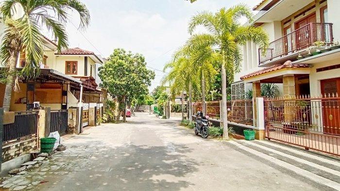 Kondisi kompleks rumah Didi Kempot di kompleks rumah Didi Kempot, Jalan Mataram VI, Kelurahan Banyuanyar, Kecamatan Banjarsari, Kota Solo, Rabu (5/5/2021).