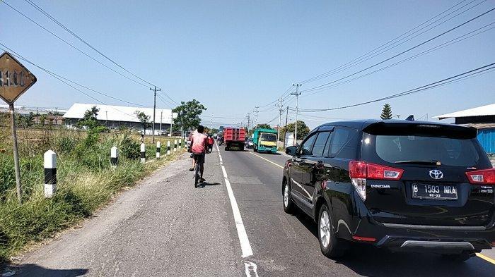 Update Arus Lalulintas di Jalan Protokol Klaten, Terpantau Ramai Lancar