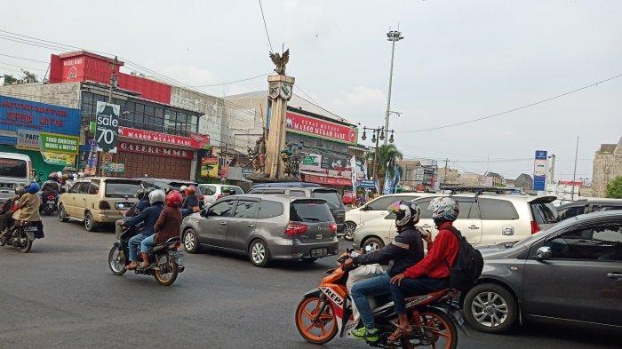 H+4 Lebaran, Jumlah Kendaraan Arus Balik di Ruas Jalan Utama Sukoharjo Menurun