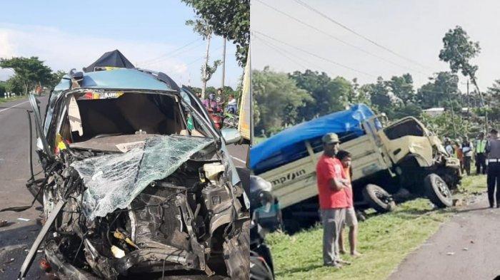 Berikut Ini Daftar Nama Penumpang, saat Daihatsu Xenia Kecelakaan Mengerikan dengan Truk di Sragen