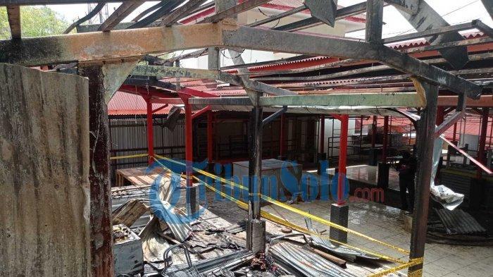 Sempat Terjadi Kebakaran, Aktivitas Pedagang di Pasar Giribelah Wonogiri Tidak Terganggu