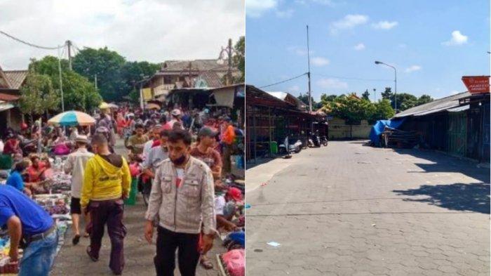 Potret Pasar Klitikan Solo: Biasanya Ramai Pengunjung, Kini Bak Pasar Mati Karena PPKM Darurat