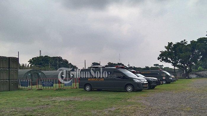 Rumah Sakit yang Dibuat TNI di Benteng Vastenburg Penuh Pasien Covid-19 : 84 Bed Terisi Warga Solo