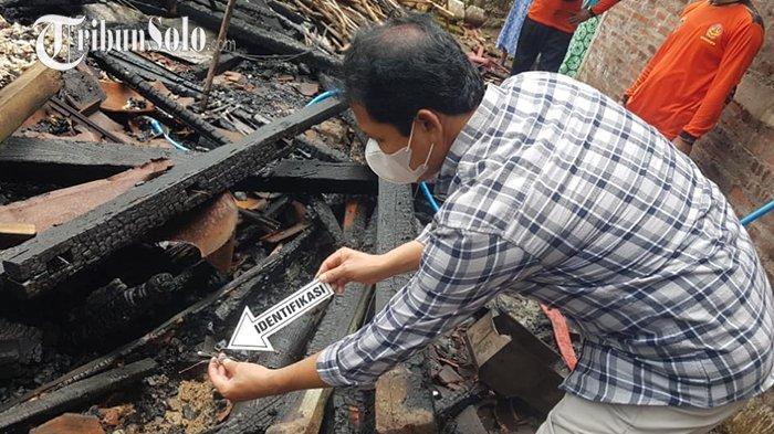 Rumah Milik Warga Sribit Sragen Habis Terbakar: Sampai Rata dengan Tanah, Tak Ada Korban Jiwa