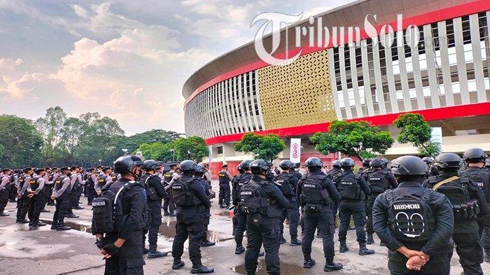 Jelang Pertandingan Persis Solo vs AHHA PS Pati : 320 Personel Siaga, Stadion Manahan Disterilkan
