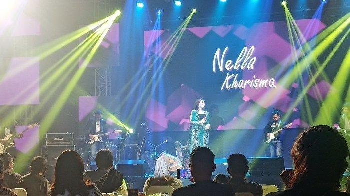 Konser Panggih Bintang Katresnan di De' Tjolomadoe Karanganyar, diadakan ditengah pandemi pada Sabtu (26/7/2020) malam.