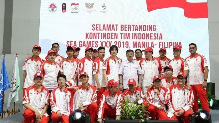Update Klasemen Perolehan Medali SEA Games 2019, Raih 12 Emas Hari Ini, Indonesia Naik Peringkat