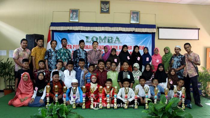 SD Tamirul Islam Solo Raih Juara Umum Lomba Mapsi Tingkat Laweyan