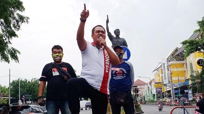 Akan Dipanggil Polisi, Korlap Aksi Tolak Rizieq BRM Kusumo Putro : Demi NKRI, Risiko Apapun Siap!