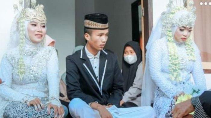 Cerita Pemuda di Lombok Nikahi 2 Wanita Sekaligus, Ungkap Awal Kenal Istri Pertama dan Kedua
