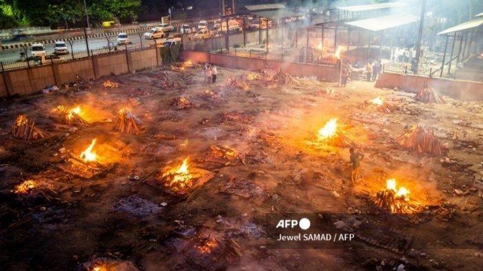 Fakta Mengerikannya Tsunami Covid-19 India selain Ada Krematorium Massal : 115 Pasien Tewas Tiap Jam