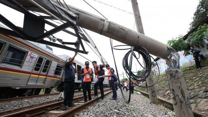 Polda Jabar Himpun Keterangan Para Saksi Tentang Penyebab Anjloknya KRL di Bogor