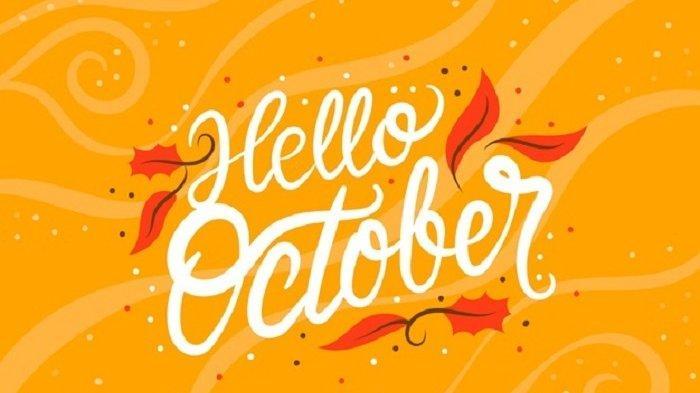 Kumpulan quotes Hello October.