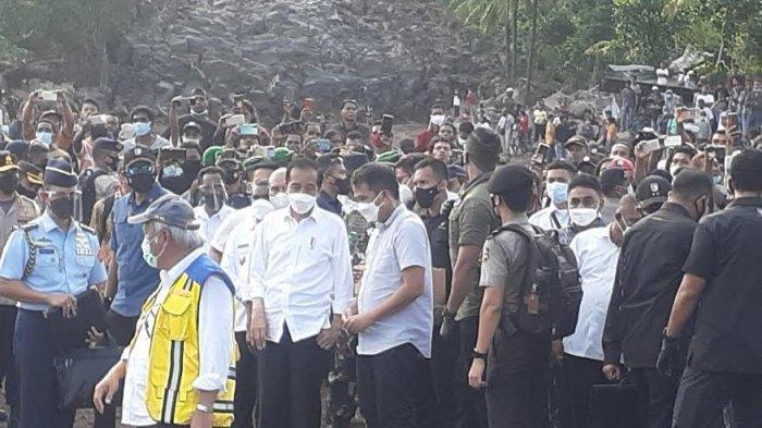 Aksi Warga Adonara NTT, Ingin Lihat Presiden Jokowi Langsung : Bertahan di Atas Pohon Selama 6 Jam