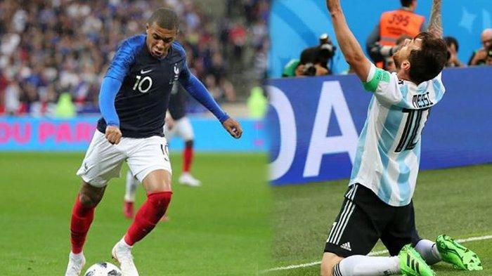 Jadwal dan Prediksi Piala Dunia 2018: Perancis vs Argentina, Les Bleus Tak Boleh Jemawa