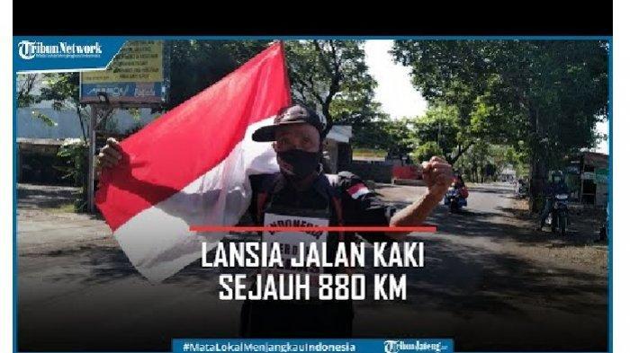 Viral Kakek Jalan Kaki 800 Kilometer dari Pasuruan ke Bogor, Ternyata Ini Sosok dan Tujuan Aksinya