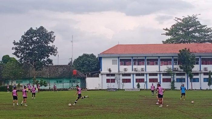 Reaksi Skuad Persikabo Latihan di Lapangan Kampung Donohudan Boyolali: Warga Ramah