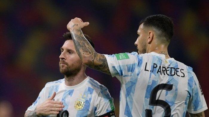 Leandro Paredes, Kawan Dekat Messi yang kini Tengah Menjadi Incaran Juventus
