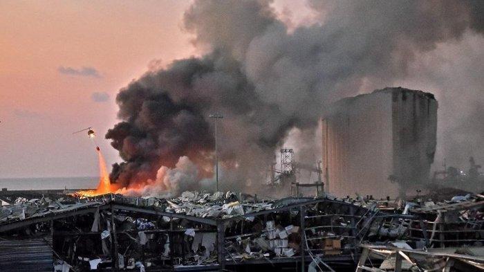 Video Detik-detik Pengantin di Lebanon Nyaris Terpental saat Ada Ledakan Dahsyat, Sedang Pemotretan