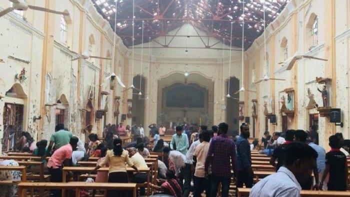 Korban Tewas Ledakan Bom Sri Lanka Bertambah Jadi 321 Orang, Termasuk Cucu PM Bangladesh