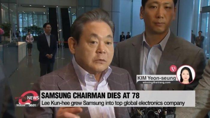 Bos Samsung Lee Kun Hee Meninggal di Usia 78, Tinggalkan Harta Kekayaan Rp 306 Triliun